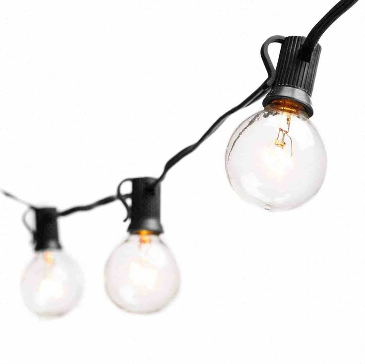 1395e75b061812 ... Café Patio Lights for Bistro Garden addlon 48 FT Outdoor String Lights  Commercial Great Weatherproof Strand Dimmable Edison Vintage Bulbs 15  Hanging ...