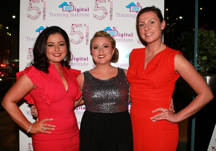 The Apprentice candidates reunited - the 2011 stars Sandra Murphy, Joanne Sweeney-Burke & Louise O'Hara at #mediabox5