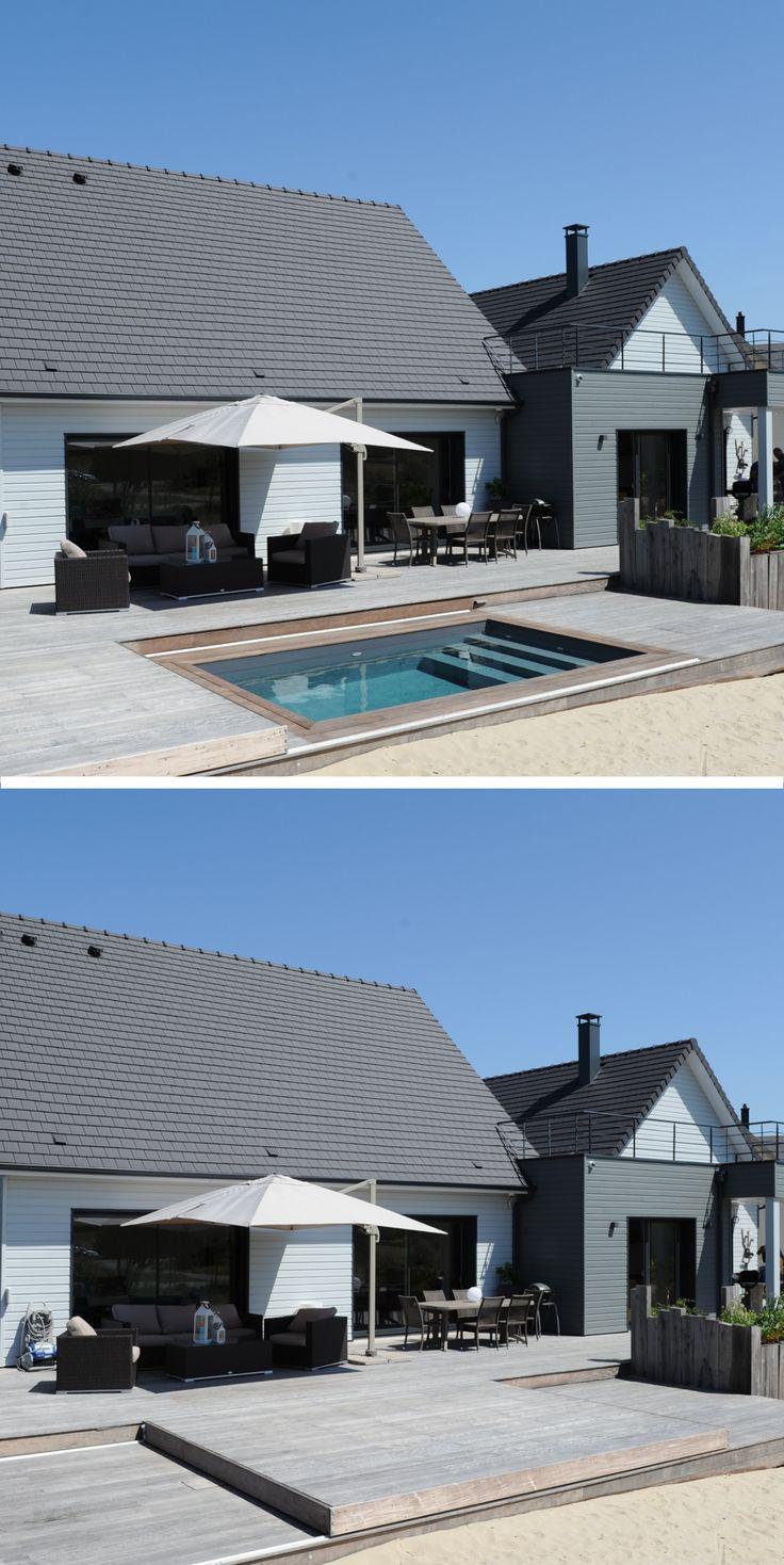 46 best terrasse mobile de piscine images on pinterest. Black Bedroom Furniture Sets. Home Design Ideas