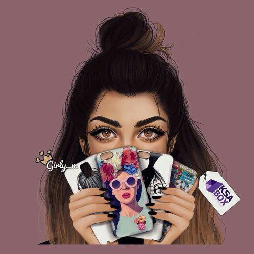 صور بنات رسم صور بنات مرسومة كارتونيه Girly M Girly M Instagram Girly Art