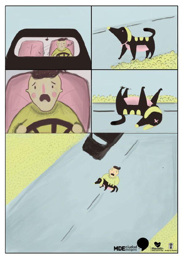 ¿Qué hacer si atropellas a un animal en la vía? http://www.mdeinteligente.co/estrategia/animales-en-las-vias-que-hacer-en-caso-de-accidentes-3/