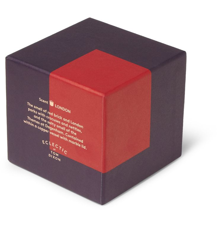 Eclectic by Tom DixonLondon Crocus and Brick Scented Candle