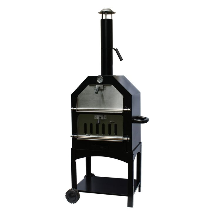 La Hacienda Lorenzo Wood Fired Pizza Oven and Smoker - 56107US
