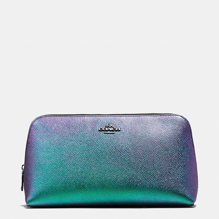 A Shimmering Iridescent Finish Creates A Hologram Effect