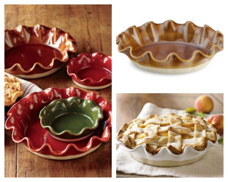 Emile Henry Artisan Ruffled Pie Dish From William Sonoma, Available At:  Http:/ Amazing Design