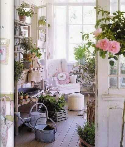 Shabby Chic Garden Shed and Sanctuary