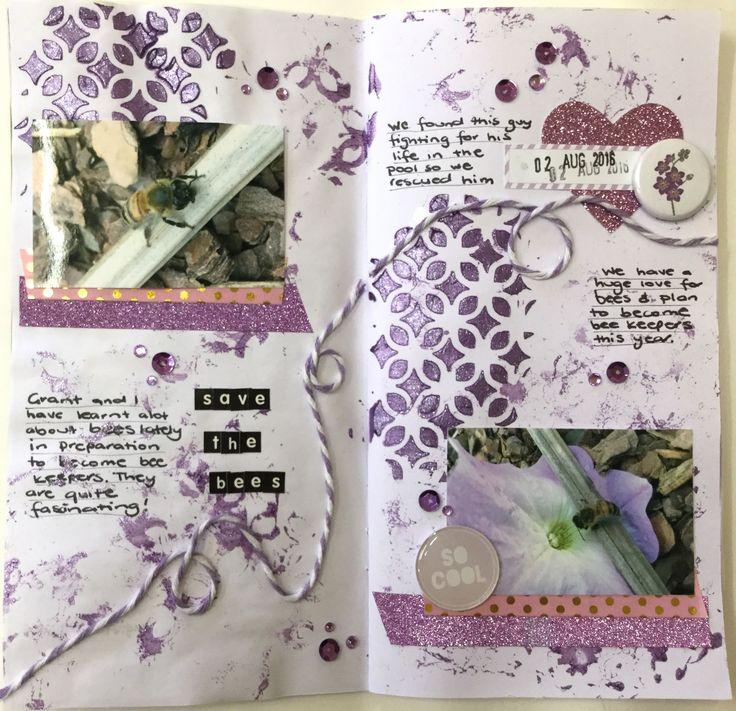 Dt member Deb - Travellers Note Book