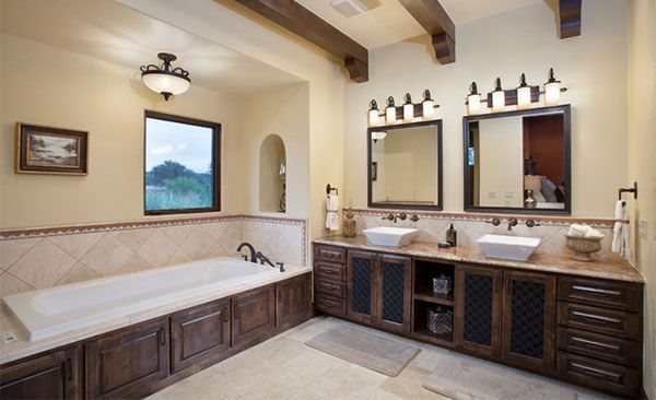 15 Beautiful Mediterranean Bathroom Designs