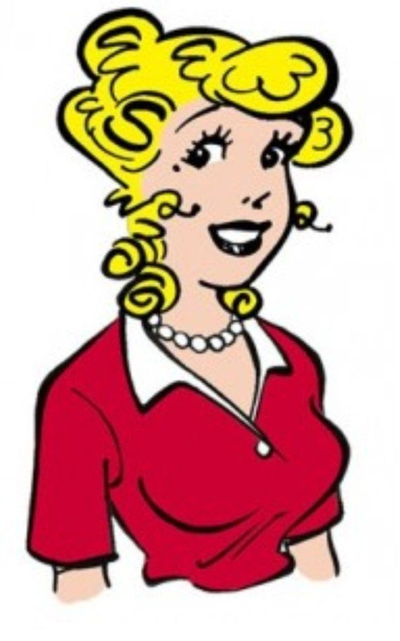 Comic strip characters Blondie