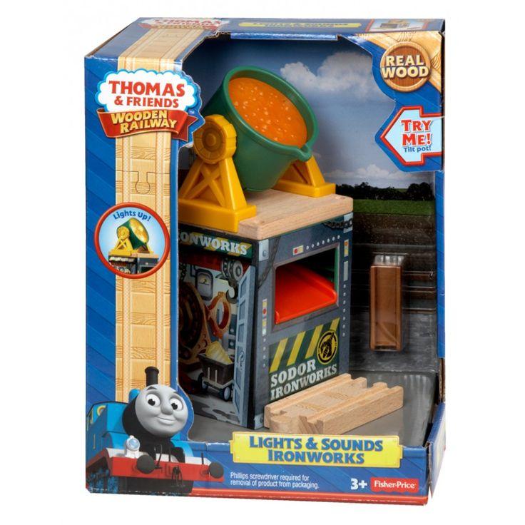 Fisher-Price Thomas & Friends Wooden Railway Destination - Ironworks