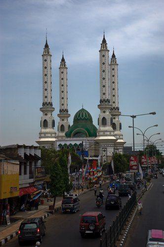 Masjid Agung Cilegon, Banten, Indonesia