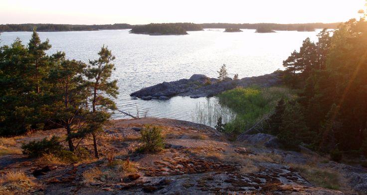 Modermagan island in Ekenäs archipelago in Raseborg, Finland