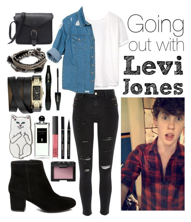 Going out with Levi Jones ( I steal Nate Parker's style!)