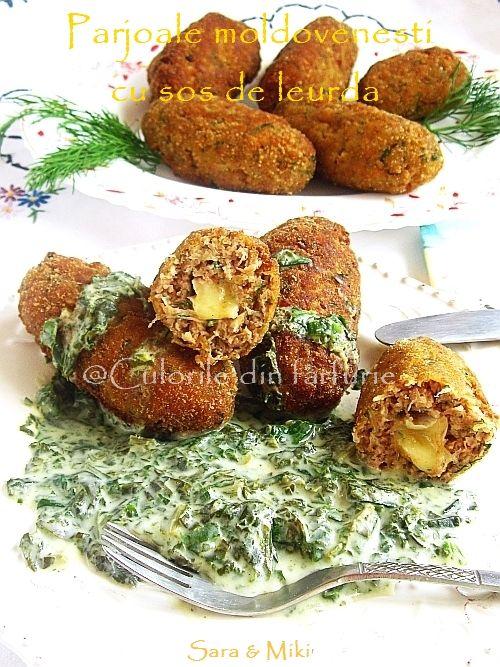 Parjoale moldovenesti cu sos de leurda ~ Culorile din farfurie