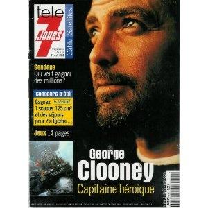 George Clooney : Capitaine héroïque [En pleine tempête], dans Télé 7 jours (n°2097) du 05/08/2000 [couverture et article mis en vente par Presse-Mémoire]