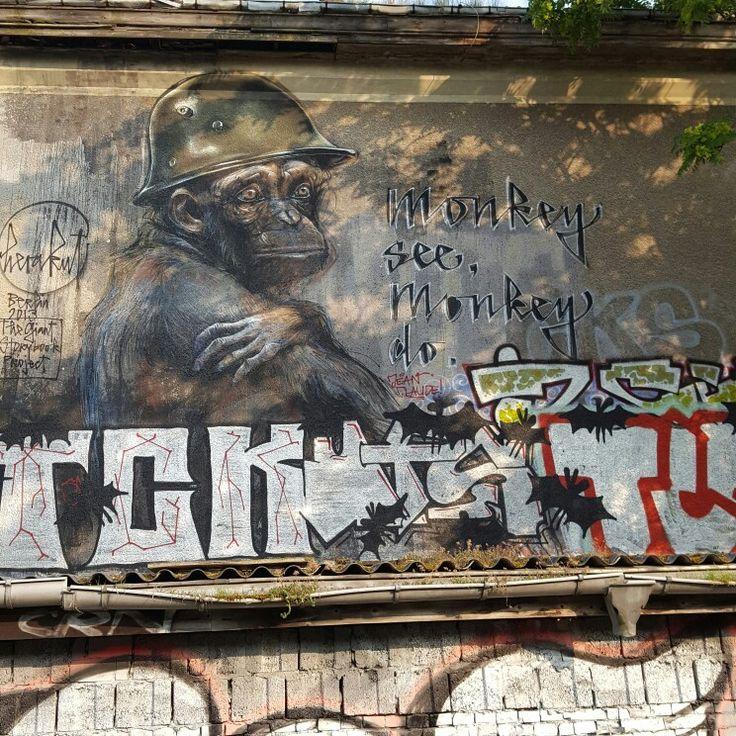 Street Art in Berlin Friedrichshain