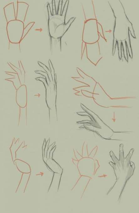 Drawing #anime #hands #step #by #step #29+
