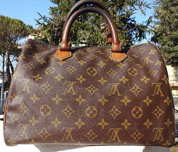 Vintage Louis Vuitton Speedy 30 di Leschosesdemanu su Etsy