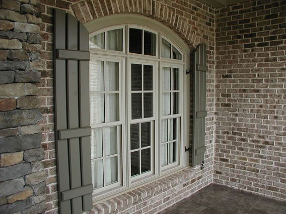Best 25 exterior color combinations ideas on pinterest - Exterior wood shutters for windows ...