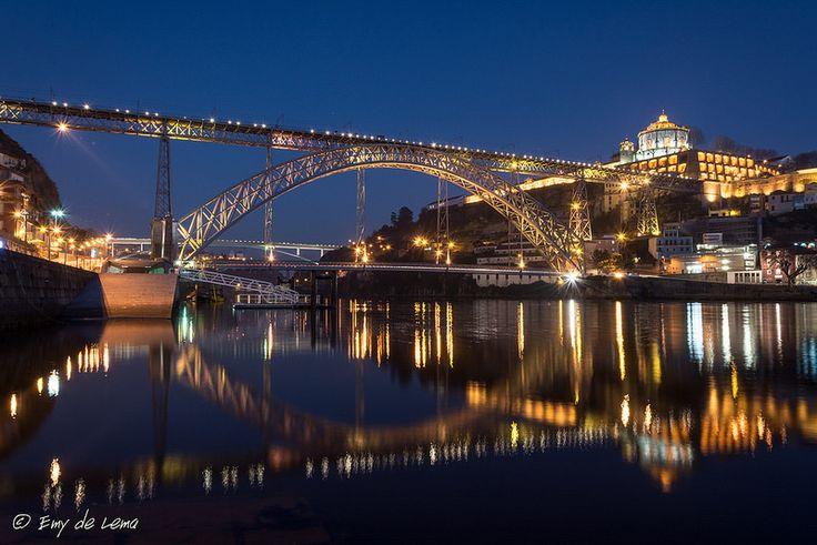 Porto Ponte Luis I, Vila Nova de Gaia, Porto, Portugal