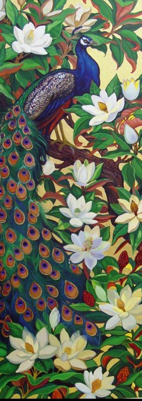 Rambunctious Mind!!!: Peacock Glass Paintings - A work in progress567 x 1600   134.4KB   ramblingsofmyrambunctiousmi...