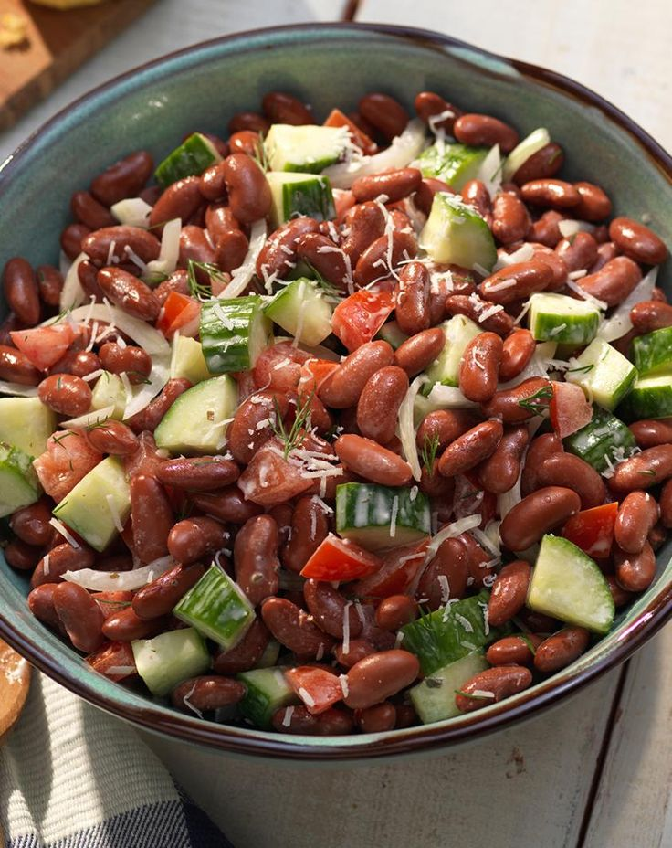 Picnic Kidney Bean Salad Recipe Recipes with kidney