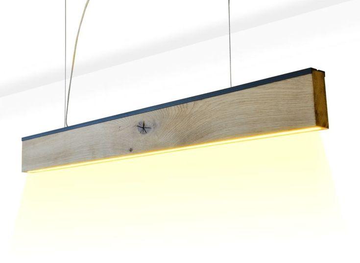 Lampa drewniana wisząca, nad stół