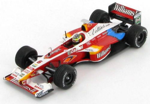 Williams-Supertec-FW21-Ralf-Schumacher-1999-1-43-Minichamps
