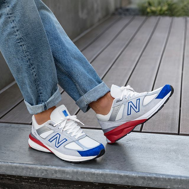 New Balance M990 NB5 Made in USA in bunt - 737761-60-12 ...