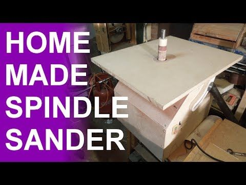 DIY, spindle sander I designed to be as simple to build with parts that don't need to be custom made. It can be powered by a drill or add pulley and motor to...