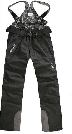 Spyder Fashion Men Ski Pant Black