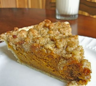 Pumpkin Pie with Maple Crumb Topping - Recipes, Dinner Ideas, Healthy Recipes & Food Guide
