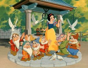 1937 Snow White and the Seven Dwarves (Blancanieves y los Siete enanitos ) Disney