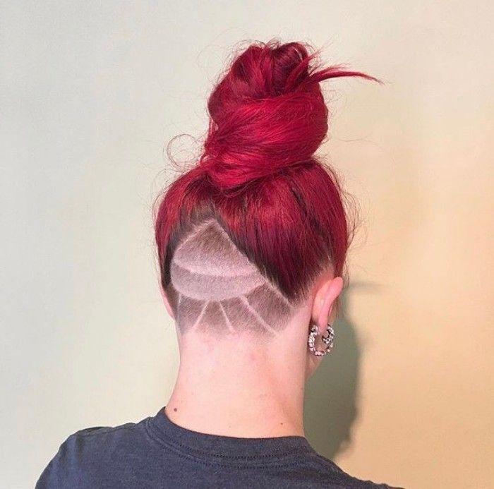 long undercut hair for women