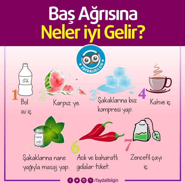 Baş Ağrısına İyi Gelen Doğal Yöntemler #sağlık #kadın #bilgi #fikir #cilt #güzellik #bakım #pratik #faydalı #yaşam #faydalıbilgi #faydalıbilgin #idea #ideas #healthy #tips #like #lifestyle #fresh #healthylifestyle #turkey #türkiye #woman #women @faydalibilgin