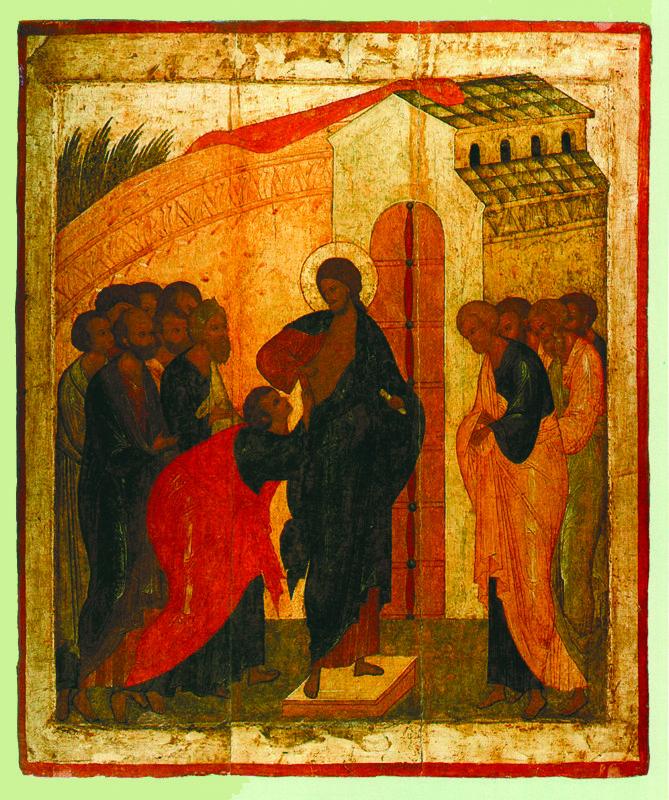 Около 1500 г.  Школа Дионисия.  Уверение Фомы