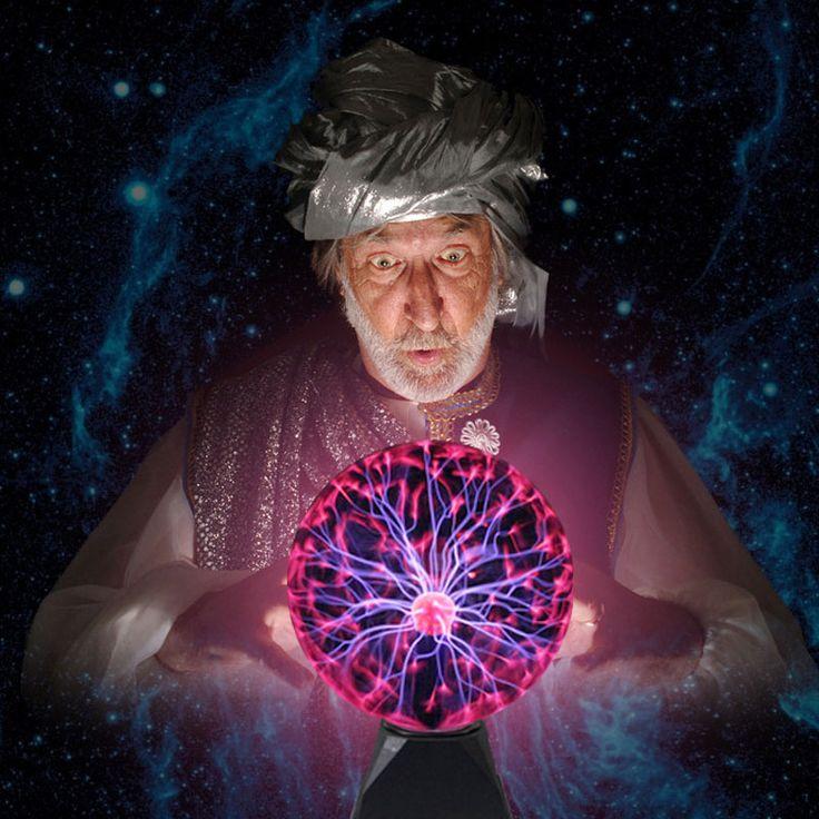 الإبداعي ضوء جو المهرجان ديكور الاطفال لعبة الجدة السحرية 3 4 5 6 بوصة البلازما الكرة السحرية الكرة مصباح luminaria البرق