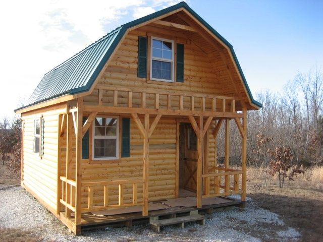 Tiny barn houses found on projects for Gambrel barn homes kits