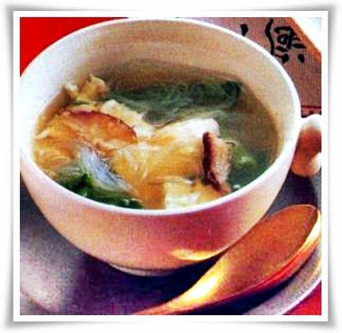 Resep Cara Buat Sup Suun Jamur Tofu Yang Banyak Nutrisi NyaJamur, Sayuran, Seafood
