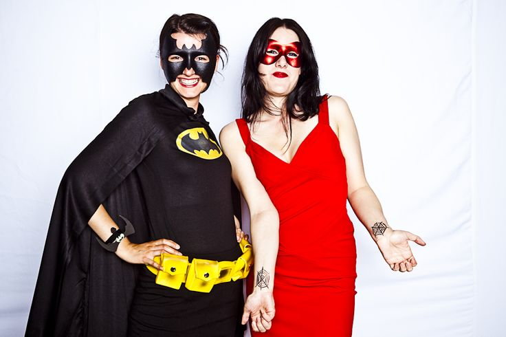 Rethink Romp 2010 | #superhero #batman #black #yellow #red #dress #mask #creative #inspiration #ideas #crimsonphotos | Photography By: Crimson Photos