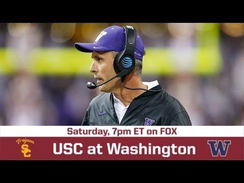 USC vs. Washington Game Preview   BREAKING THE HUDDLE WITH JOEL KLATT