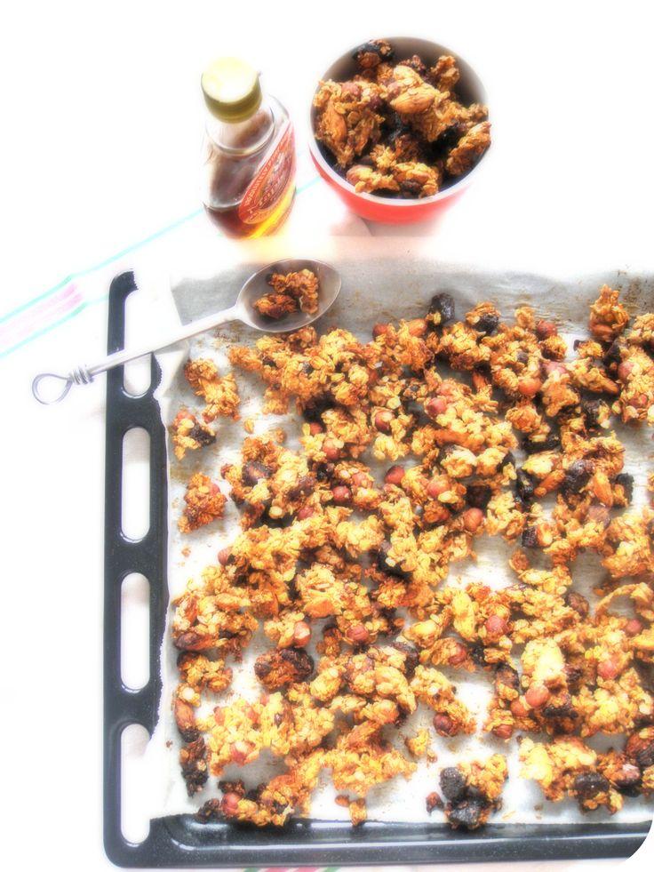 Granola de Nigella Lawson | Recettes de cuisine, Cuisine ...