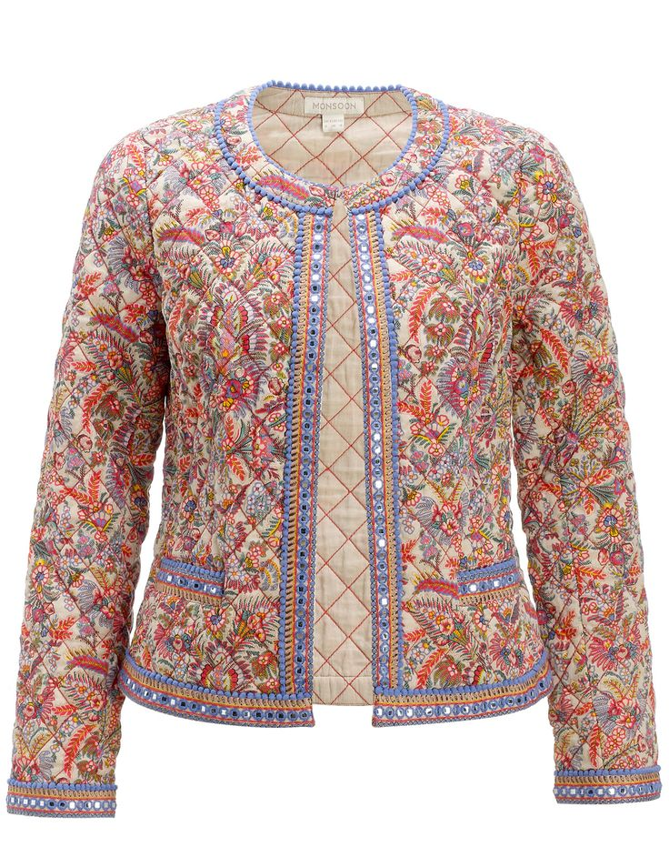 Camilla Print Jacket, Monsoon,