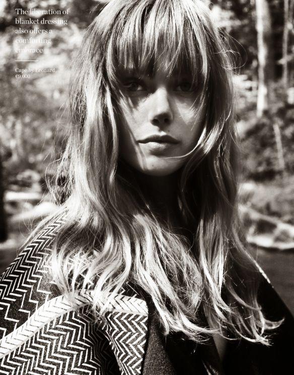 Frida Gustavsson by Cedric Buchet for Porter Magazine #4 Fall 2014