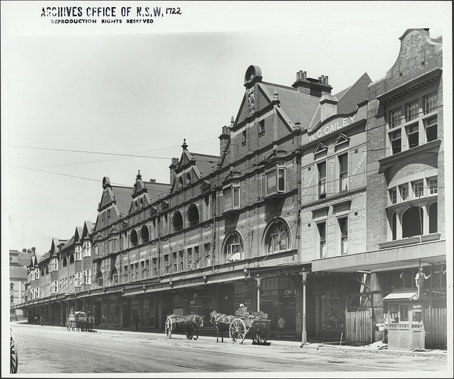 George Street, Sydney by State Records NSW, via Flickr