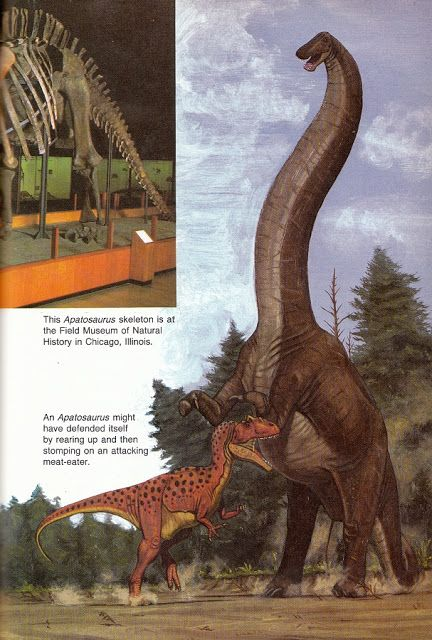 Love in the Time of Chasmosaurs: Vintage Dinosaur Art: Dinosaurs! The 1987 Childcraft Annual - Part 2