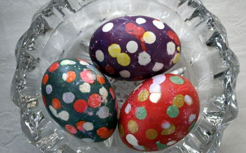 Spotted Easter Eggs