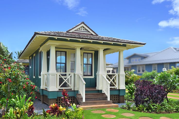 Hawaiian cottage style cane cottages hawaiian Real estate house plans