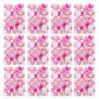 Künstliche Blume Wand Rose Hydrangea Wall Hochzeit Street Pillar Hintergrund …   – Rosa