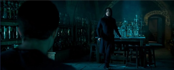 Harry's Occlumency lessons with Snape (Harry Potter and the Order of the Phoenix)